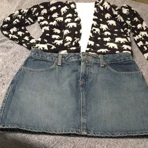 Skirt - OLD NAVY JOBACCI - Perfect Fit Jean Skirt